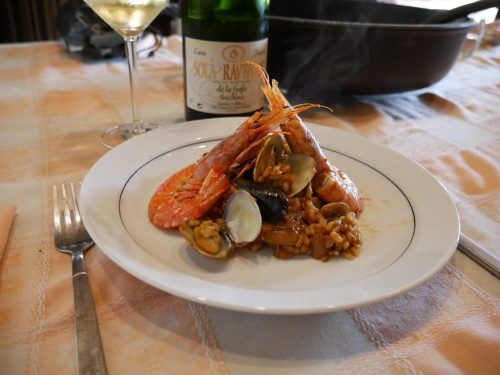 Seafood Rice in Cava
