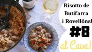 "Risotto of ""Rovellons"" and sausage"