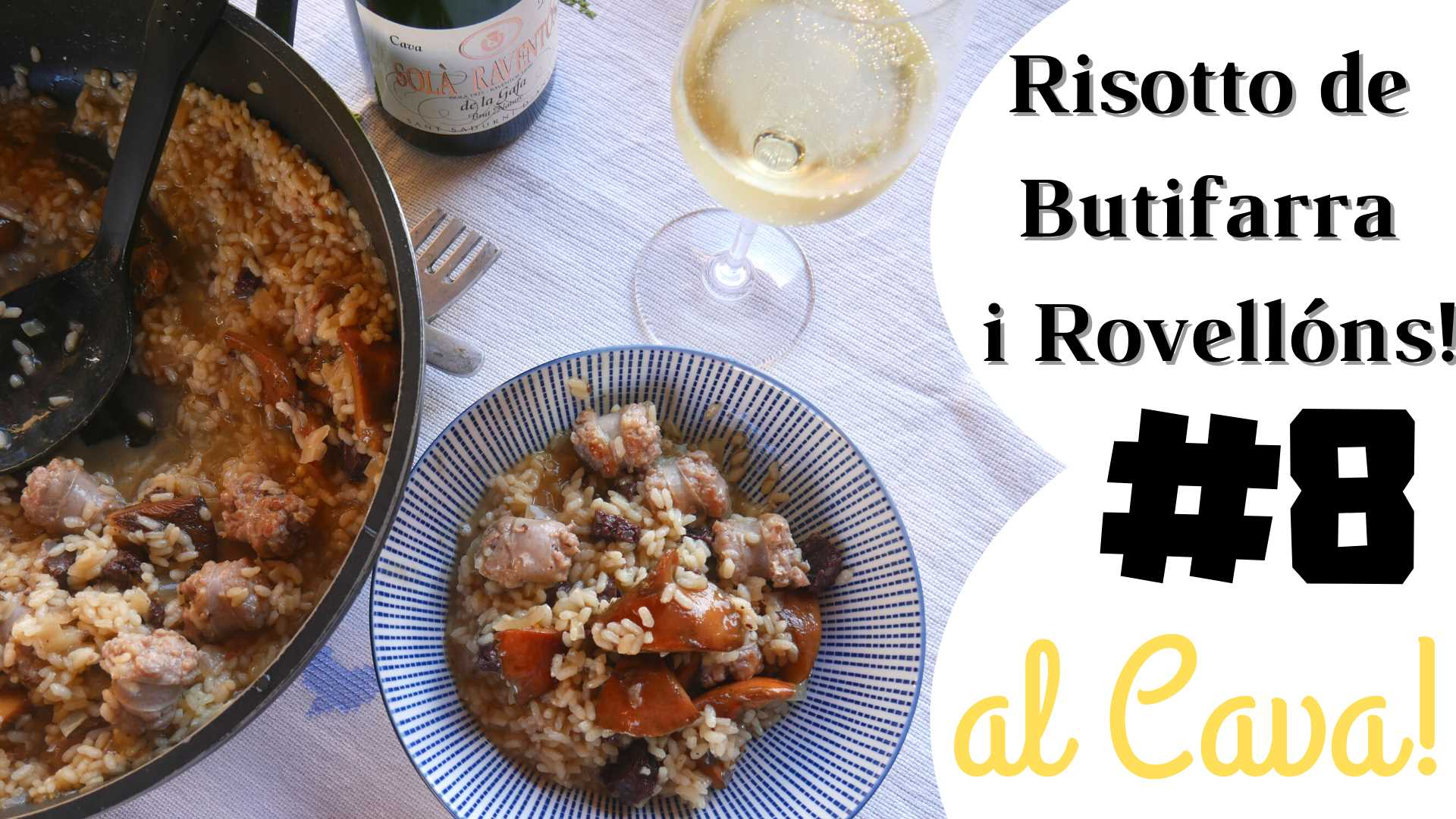 """Risotto of """"Rovellons"""" and sausage"""